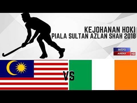 Malaysia 4 - 1 Ireland | Hoki Piala Sultan Azlan Shah 2018 | Sorotan Masa Penuh | Astro Arena