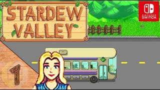 Stardew Valley Let's Play ★ 1 ★ Das Erbe meines Opas ★ Switch Edition ★ Deutsch