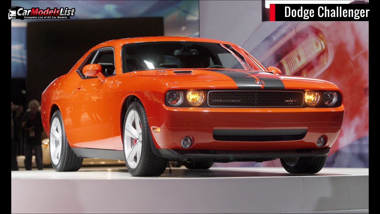 Complete List of All Muscle Car Models - YouTube
