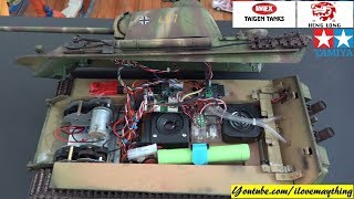 Customized Remote Control TANKS Volume 1. Heng Long, Taigen, Tamiya, Torro and More!