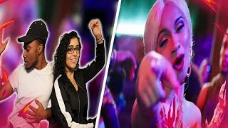 Ozuna   La Modelo Ft Cardi B ( Video Oficial ) | CARDI B IS THE TRAP SELENA?! | REACTION VIDEO 🔥