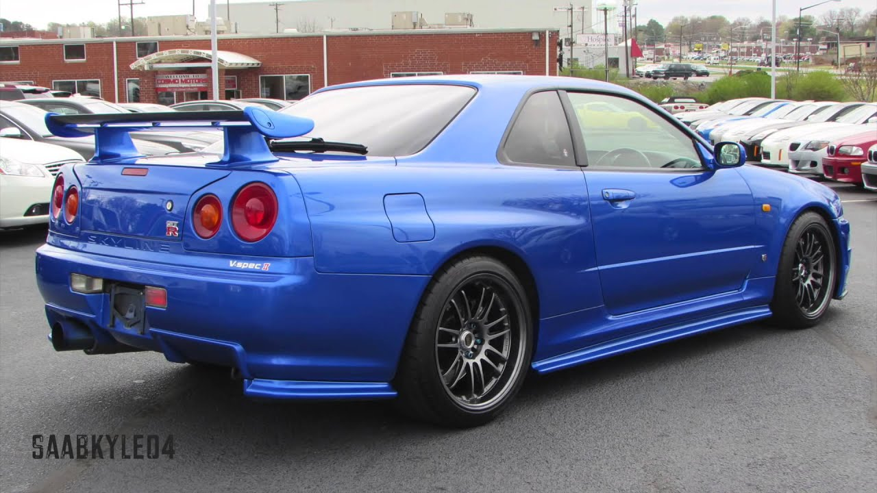 Delightful 1999 Nissan Skyline GT R R34 Start Up, Test Drive, And In Depth Review