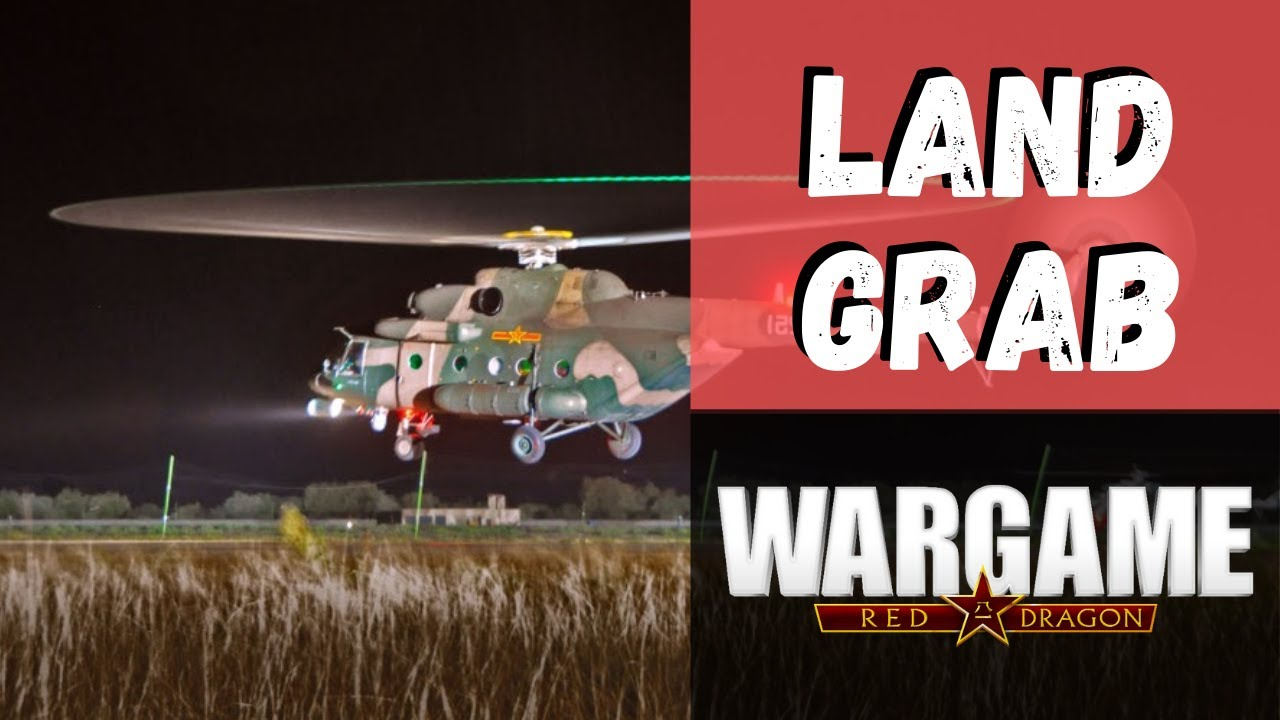Wargame Red Dragon – Land Grab [3v3 Replay 0 income]