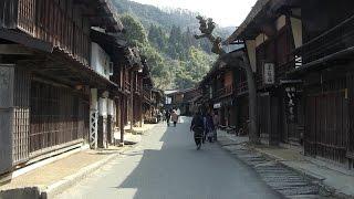 【Nagano/Gifu】奈良井宿~妻籠宿~馬籠宿(観光) Narai-juku~Tsumago-juku~Magome-juku(Sightseeing)
