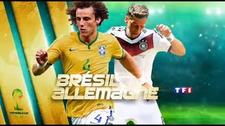 (TF1)1/2 finale de la Coupe du Monde 2014 : Brésil-Allemagne