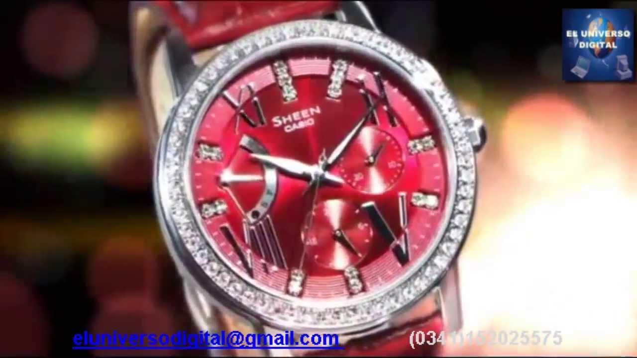 Reloj casio sheen mujer precio