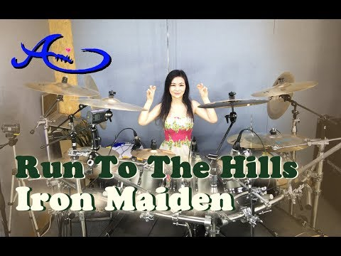 Iron Maiden - Run To The Hills drum cover by Ami Kim (37th)