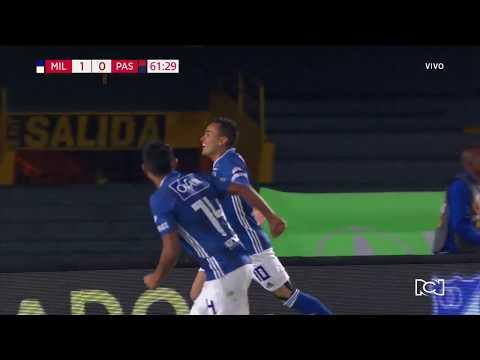 Millonarios 1-0 Pasto: gol Santiago Montoya cuadrangulares I Deportes RCN
