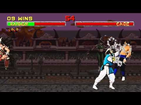 Mortal Kombat 2 in HD: Raiden on Very Hard playthrough