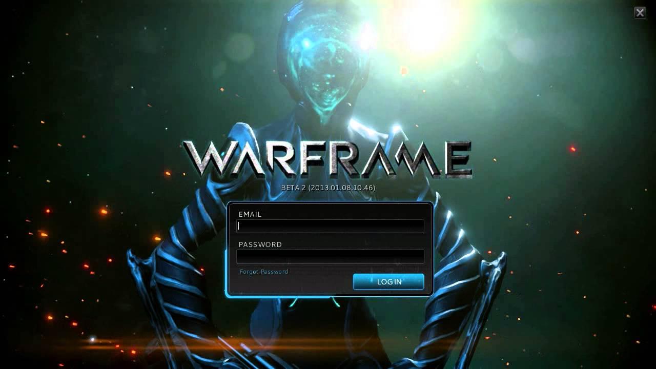 WARFRAME] Title Screen - YouTube