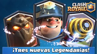 NEW LEGENDARY CARDS IN ACTION!! Sparky, Lava Hound and the Miner | Sneak Peek | Clash Royale