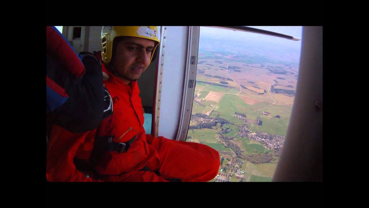 University of Surrey Skydiving Weekend Trip 24-03-2012