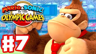 Mario & Sonic at the Olympic Games Tokyo 2020 - Gameplay Walkthrough Part 7 - Story Mode!