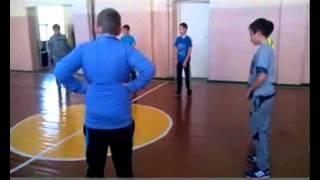 открытый урок  баскетбол