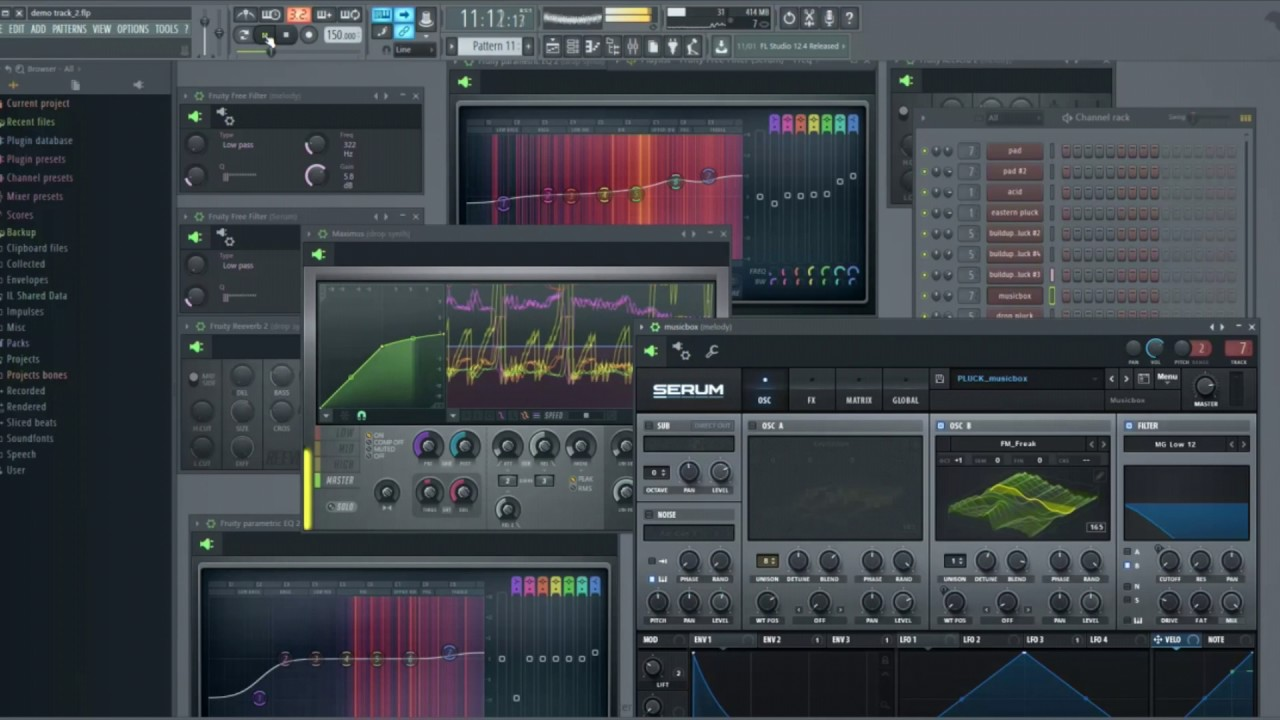 TEASER - Dubstep Template For FL Studio and Serum Presets By Eliminate
