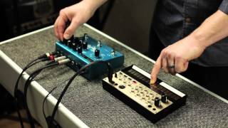 Strymon BigSky Reverb - Peter Dyer - synth demo