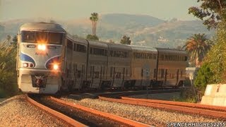 Amtrak Trains (Featuring P42DC #74) New Locations! (July 26th, 2013)