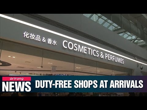 S. Korea letting shoppers buy duty-free straight after landing at Incheon International Airport