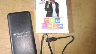 Best ZEBRONICS Power Bank to Buy in 2020 | ZEBRONICS Power Bank Price, Reviews, Unboxing and Guide to Buy