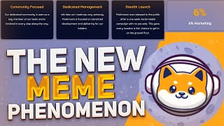 ⭐️Flokimooni - a whole movement! A new cryptocurrency created by members of the Shiba Inu community!