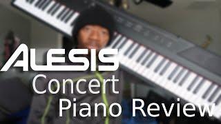 Alesis Concert 88-key Digital Piano Full Review