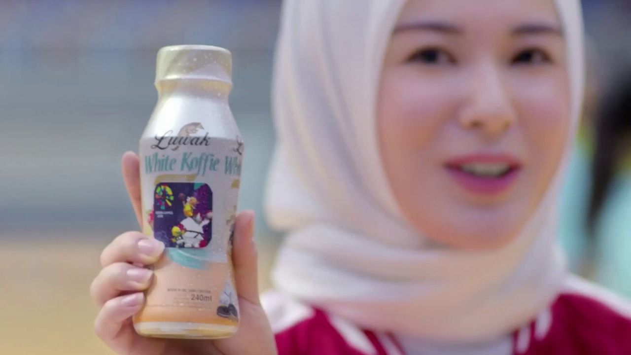 Luwak White Koffie Asian Games With Ayana Moon Youtube