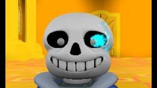 """Sans Fight (Undertale 3D Boss Battles) """"Roblox"""""""