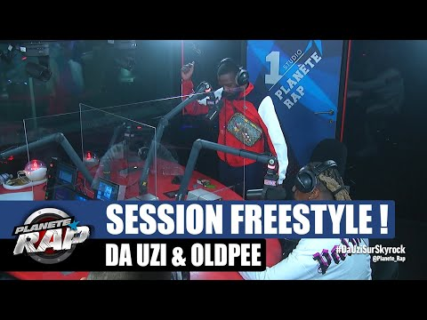 Youtube: Session freestyle – Da Uzi & Oldpee retournent le studio! #PlanèteRap