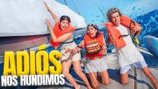 NUESTRO BARCO SE ESTÁ HUNDIENDO EN MEDIO DEL OCÉANO | LOS POLINESIOS VLOGS