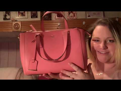 Poshmark review/unboxing Kate spade purse!!!