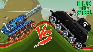 Hills of steel hack - Mobile game for kids - Tank - Games bii