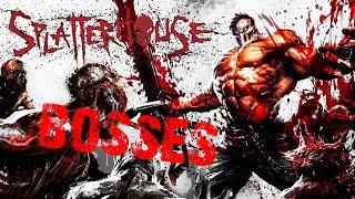 splatterhouse 2010 all boss fights