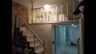 Второй ярус в комнате и встроенная гардеробная Тучков пер  СПб(, 2016-02-14T16:25:49.000Z)
