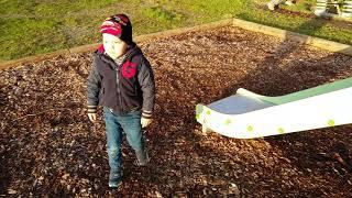 Занятия с Захаром. Урок экологии на прогулке.