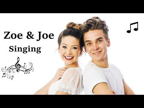 Zoe & Joe Sugg Singing Compilation