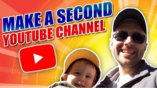 Video How to Create A Second YouTube Channel - Simple Solution download MP3, 3GP, MP4, WEBM, AVI, FLV November 2017