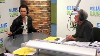 Andy Grammer Tells Us About His DWTS Spray Tan | Elvis Duran Show