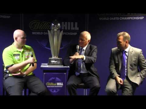William Hill World Darts Championship Launch Day Press Conference