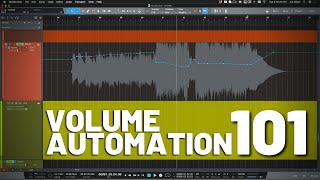 Volume Automation 101 in #StudioOne