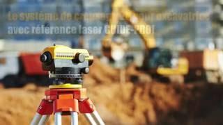systeme de creusage 2D pour excavatrice