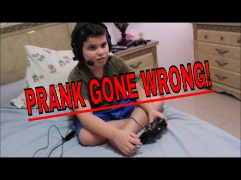 Turning Off The Xbox Prank! (PRANK GONE WRONG)