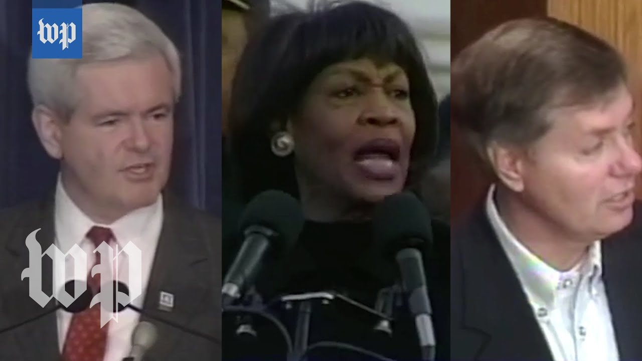 Democrats use Lindsey Graham's Clinton impeachment speech in ...