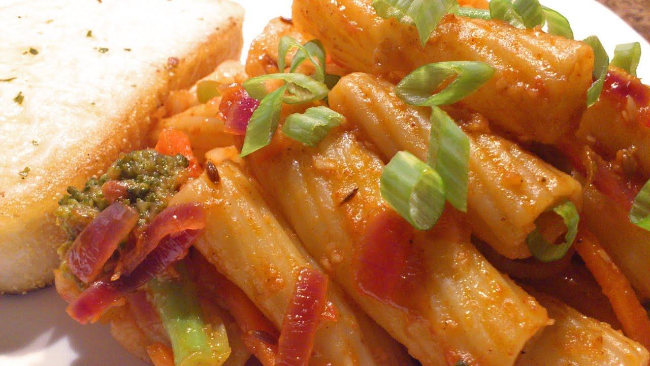 Recipe to prepare pasta