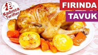 Fırın Poşetinde Bütün Tavuk Tarifi, Nasıl Yapılır?    Kadınca Tarifler