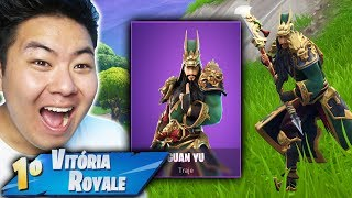 I BOUGHT THE NEW SKIN OF THE CHINESE WARRIOR * EPIC * AND VENCI!! -Fortnite Battle Royale