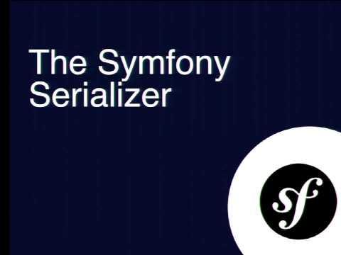 DrupalCon Barcelona 2015: Serialization with Symfony: From J to O to X