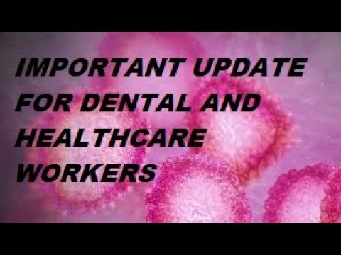 🦷Dental News Update On CoronaVirus And Review On Personal Protective Equipment -PPE (2020)