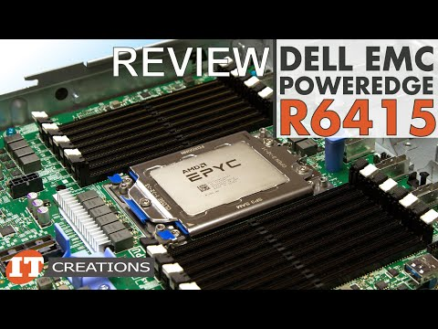 EPYC Dell EMC PowerEdge R6415 Server REVIEW | IT Creations