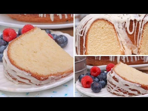 How to make cream cheese pound cake moist
