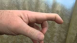 Как гнуть пальцы